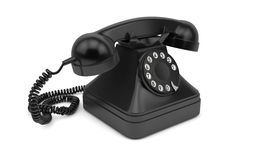 Vintage rotary dial phone  Stock Photos
