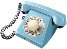 Vintage rotary dial telephone Royalty Free Stock Photo
