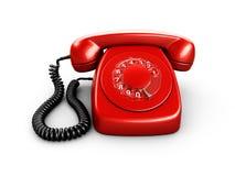 Vintage rotary phone Royalty Free Stock Photos