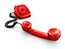 Vintage rotary phone Stock Photography