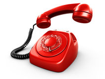 Vintage rotary phone Royalty Free Stock Photo