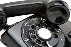 Vintage Rotary Phone Stock Image
