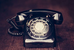 Vintage Rotary Phone Stock Images