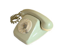 Vintage rotary telephone Stock Photography