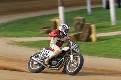 Vintage Rotax bike Stock Image