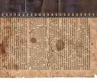 Vintage background with old newspaper and retro film strip. Vintage rough background with old newspaper and retro film strip Royalty Free Stock Image