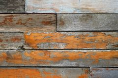 Vintage rough old wooden panel tone texture background.have Royalty Free Stock Photography