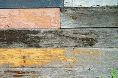 Vintage rough old wooden panel tone texture background.have Stock Photo