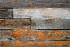 Vintage rough old wooden panel tone texture background.have Royalty Free Stock Images