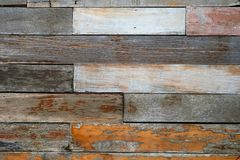 Vintage rough old wooden panel tone texture background.have Royalty Free Stock Photos