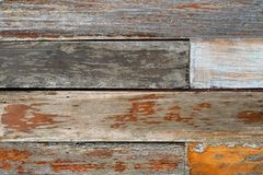 Vintage rough old wooden panel tone texture background.have Royalty Free Stock Photo