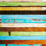 Vintage rough wood plank Royalty Free Stock Images