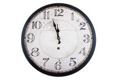 Vintage round wall clock Royalty Free Stock Photo
