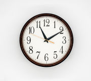 Vintage round wall clock Royalty Free Stock Photos