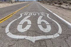 VIntage Route 66 Highway Sign Stock Images