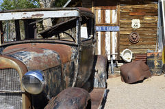 Vintage route 66 oldtimer Royalty Free Stock Photography