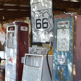 Vintage route 66 scene Stock Photography