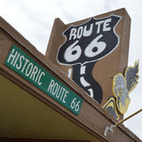 Vintage route 66 scene Stock Photo