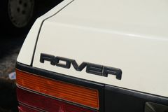 Vintage Rover car symbol royalty free stock photos