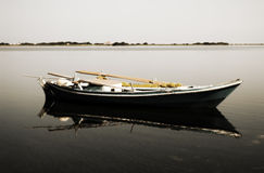 Vintage Rowboat Stock Image