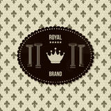 Vintage royal background Royalty Free Stock Images