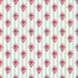 Vintage royal stripped wallpaper Stock Images