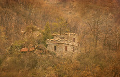 Vintage ruins from old fortress Stock Photography