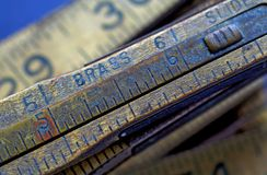 Vintage Ruler Stock Images
