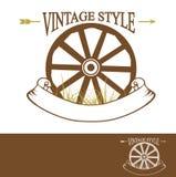 Vintage Rural Design Royalty Free Stock Photos