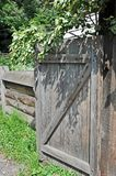 Vintage rural gate Stock Photography