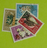 Vintage Russia postage stamp. A vintage Russia postage stamp, 1964 issues Stock Photography