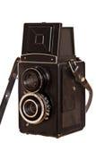 Vintage russian camera lubitel2 Stock Photography
