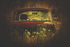 Vintage russian car Royalty Free Stock Photo