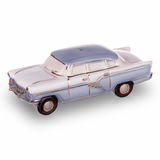 Vintage russian car scale models made in USSR. Two vintage russian car scale models made in USSR Royalty Free Stock Photos