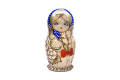 Vintage russian doll Royalty Free Stock Image