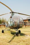 Vintage Russian helicopter Stock Image