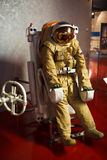 Vintage russian spacesuit Royalty Free Stock Image
