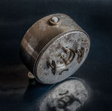 Vintage rusted clock Stock Photos