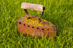 Vintage and rusted iron Royalty Free Stock Photos