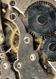 Vintage Rusted Watch Pocket Watch Time Piece Vertical Banner Royalty Free Stock Images