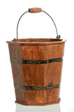 Vintage Rustic Bucket Royalty Free Stock Photography