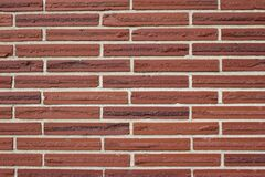 Free Vintage Rustic Red Color Brick Wall With A 1/3 Offset Brickwork Pattern Royalty Free Stock Image - 178733246