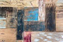 Vintage rustic wooden texture Stock Images