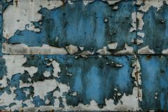 Vintage rusty blue background texture. royalty free stock photography