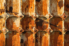 Vintage rusty door Royalty Free Stock Photography