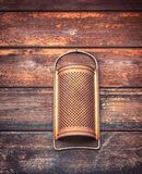 Vintage and rusty grater decoration Stock Photography