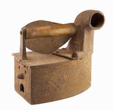Vintage rusty iron Stock Image