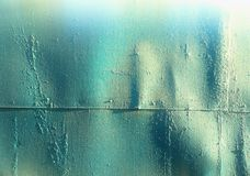 Vintage rusty metal plate texture background stock photo