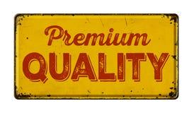 Premium Quality. Vintage rusty metal sign on a white background - Premium Quality stock photos