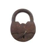 Vintage rusty padlock Stock Photography